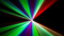 Colourful Laser beams