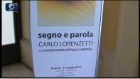 Segno e Parola. Una mostra dell'Iliesi per Carlo Lorenzetti