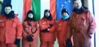 Auguri dall'Antartide