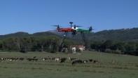Arriva 'Efesto', il drone che riduce il consumo di acqua e pestecidi nell'agricoltura