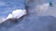 eruzione etna: le immagini dell'ingv