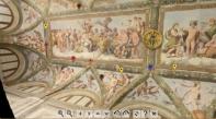 Villa Farnesina, gli affreschi si ammirano in touch screen
