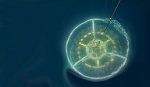 CTD e Rosette in acqua