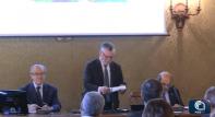 Inguscio al convegno su 'Clima, agricoltura, migrazioni'