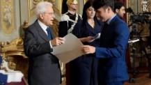 Mattarella incontra i nuovi Alfieri della Repubblica