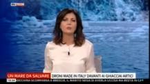 I droni tra i ghiacciai per la salvaguardia dell'ambiente
