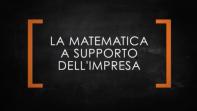 Sportello matematico, un supporto alle imprese