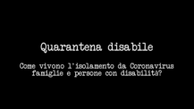 Quarantena disabile